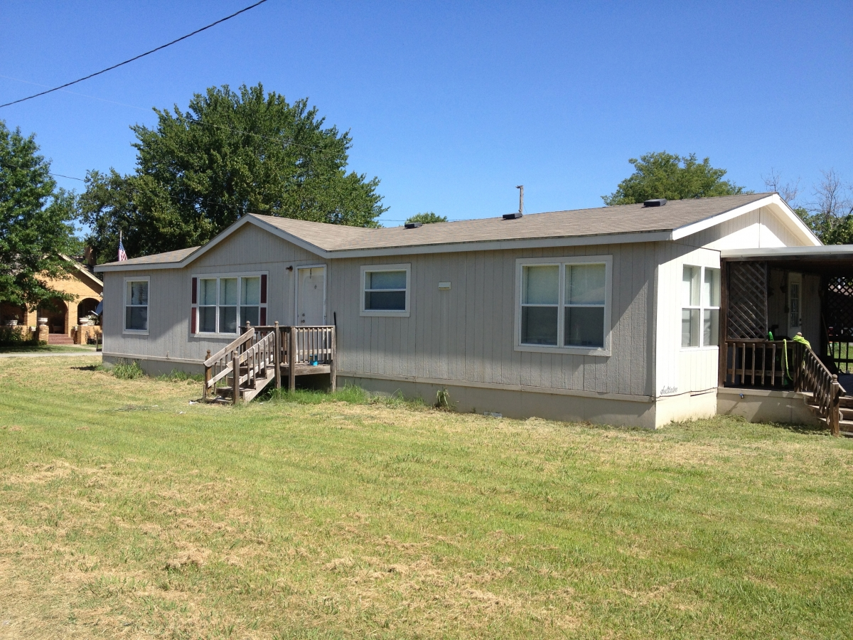 Full view mobile home for rent allen oklahoma
